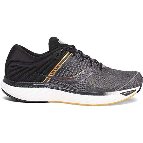 Saucony Men's S20546-45 Triumph 17 Running Shoe, Grey/Black - 11 M US