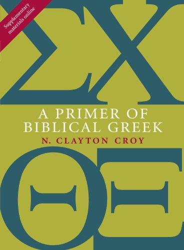 A Primer of Biblical Greek