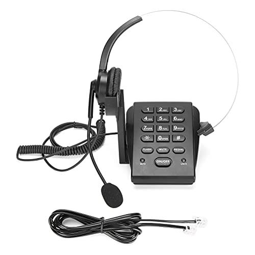 Teléfono del Centro de atención telefónica, teléfono del Centro de atención telefónica con cancelación de Ruido en la Cabeza para la Oficina del Centro de atención telefónica de la casa