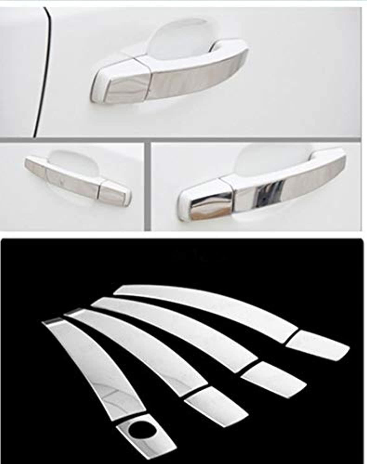For Opel Zafira B 2005 2006 2007 2008 2009 Stainless Steel Car Door Handle Cover Trim Sticker Car Styling