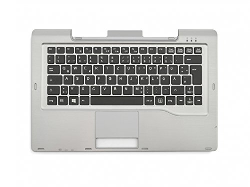 Fujitsu Stylistic Q702 Original Tastatur inkl. Topcase DE (deutsch) schwarz/Silber