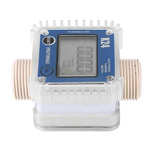 D DOLITY Aquamètre Compteur d'Eau Numérique Outils testeurs Débitmètre - Size D