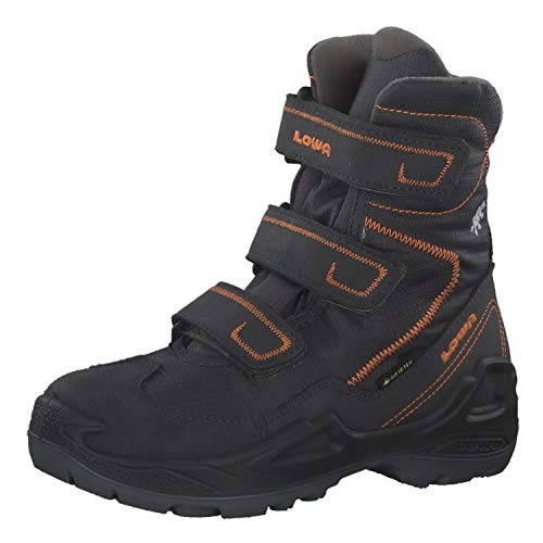 Lowa Milo GTX High-Cut Stiefel Kinder Anthracite/orange Schuhgröße UK 12,5K | EU 31 2019