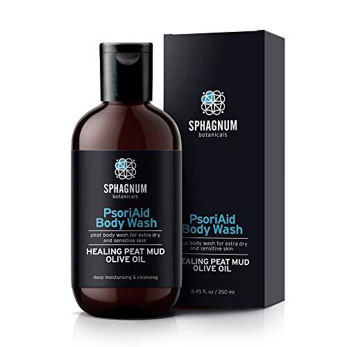 2in1 Duschgel und Creme gegen Schuppenflechte - 100% natürliche Cremedusche, sulfatfreie, feuchtigkeitsspendende Behandlung für extra trockene und juckende Haut. Das beste zur Linderung von Psoriasis…