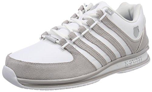 K-Swiss Herren Rinzler SP Sneaker, Weiß (White/Gull Gray), 42.5 EU
