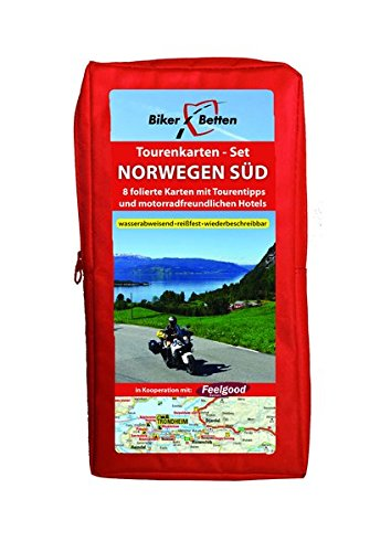 Tourenkarten Set Norwegen Süd (FolyMaps): 1:600 000