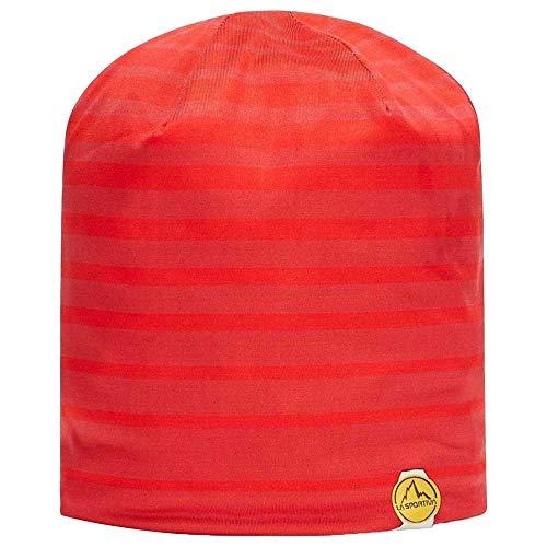 LA SPORTIVA Neo Beanie Unisex-Mütze für Erwachsene, Unisex, Baskenmütze, Y28311300, Mohn/Rot, S