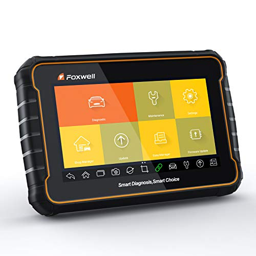 FOXWELL GT60 Plus Bi-Directional OBD Android Tablet Scan Tool OE-Level Advanced All System Diagnostics with All Needed Service Functions ABS Auto Bleed/TPMS Programming/Odometer/SAS/BRT