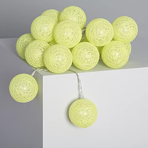 LEDKIA LIGHTING Guirlande LED 20 Boules Lemon 3.15m/4.35m Brancher