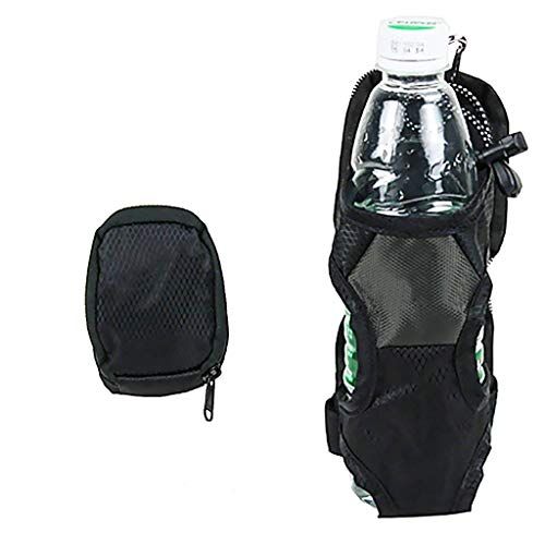 Green PET Flaschenhalter Deckel Flaschenhalter Montiert auf Rucksack Gürtel Eingabe Cage Pocket Getränkehalter Wasserflasche Wasserflasche Gefaltete Regenschirm kann auch gespeichert Werden