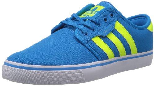 adidas Originals Seeley, Baskets mode homme - Bleu (Blesol/Lectrici/Bla), 44 EU