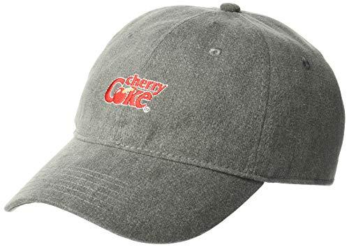 Coca-Cola Junior's Cherry Coke Baseball Cap, Black, One Size