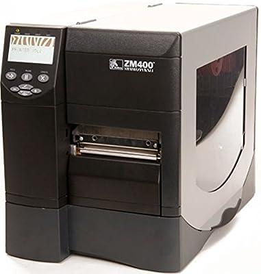 """Zebra ZM400 Thermal Label Industrial Printer, 10 in/s Print Speed, 203 dpi Print Resolution, 4.09"""" Print Width, 110/220V AC"""