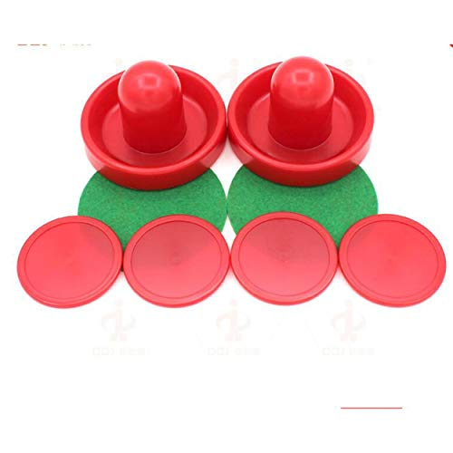 Lorenlli Lightweight 96mm Puck Ball Felt Pusher Universal Ice Hockey Set Air Ball Table Plastic Accessries Hit Ball