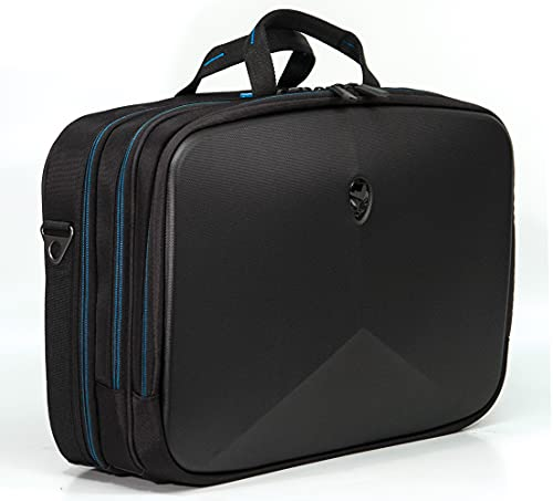 Alienware Vindicator 2.0 Gaming Laptop Briefcase, 13-Inch, ScanFast TSA Checkpoint Friendly, Black (AWV13BC2.0)