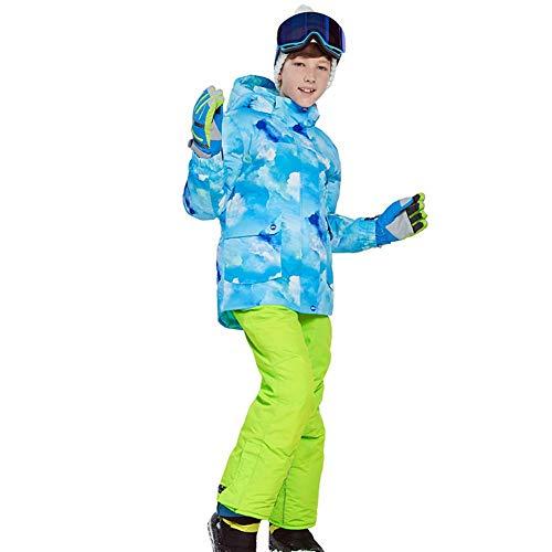 GFYL Kids Ski Jas en Broek Set Waterdicht Winddicht 2-delige Sneeuwpak Skisuit Set