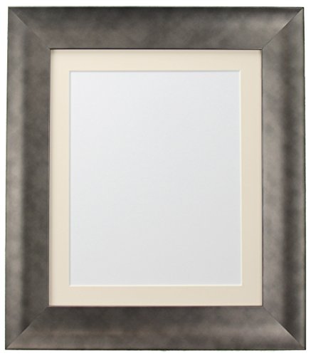 FRAMES BY POST Hygge Bear Creek Photo Poster Frame, plastica, Pewter, 50 x 70 cm Image Size A2