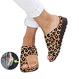 DATOO 2019 BestWalk Bunion Sandals Orthopedic Premium Toe Corrector Sandals (Leopard,36)