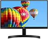 LG 22MK600M-B - Monitor FHD de 54,6 cm (21,5') con Panel IPS (1920 x 1080 píxeles, 16:9, 250 cd/m², NTSC 72%, 1000:1, 5 ms, 75 Hz) Color Negro