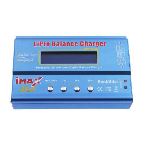 EastVita Imax B6 OEM Battery Balance Charger for 1-6 Cell Lipo, Li-ion, Life (A123), Pb, 1-15 Cells Nicd and Nimh Batteries