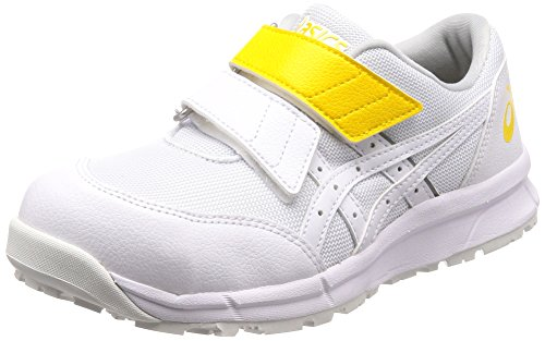 [アシックス] ワーキング 安全靴/作業靴 ウィンジョブ CP20E JSAA A種先芯 耐滑ソール 静電気帯電防止 αGEL搭載 ホワイト/ホワイト 30.0