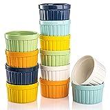AVLA Set of 12 Porcelain Ramekins, 5 Oz...