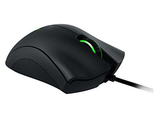 Razer DeathAdder Chroma - Ratón gaming (ergonómico, con cable, retroiluminación RGB, sensor de 10000 DPI), color negro