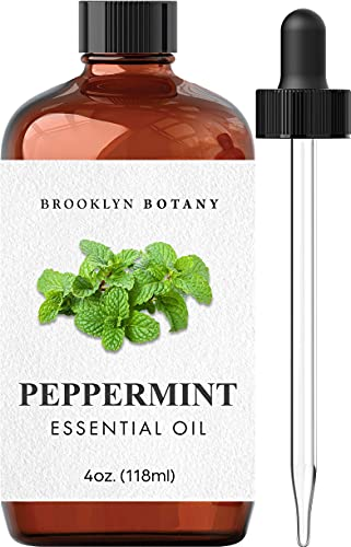 Brooklyn Botany Peppermint Essential Oil – 100% Pure and Natural –...
