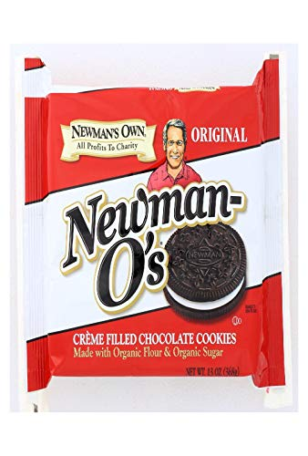 Newman's Own Organics Original Chocolate Vanilla Creme Cookie - 13 oz.