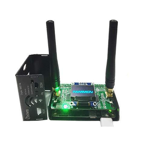MMDVM Duplex Hotspot Module Support P25 DMR YSF NXDN DMR,Hotspot Board+ Raspberry pi+OLED +Antenna + 8G TF card + metal Case