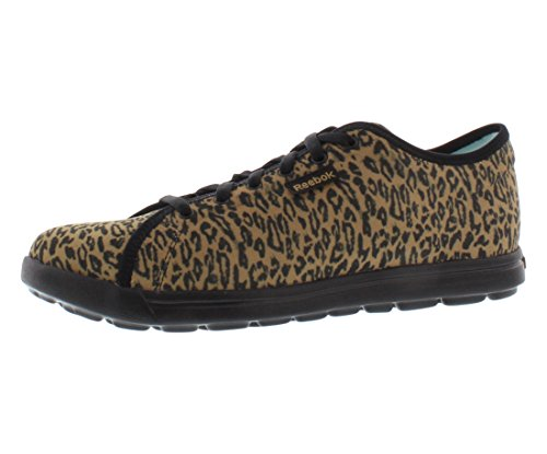 Reebok Women's Skyscape Runaround Walking Shoe,Black/Thatch,6 M US