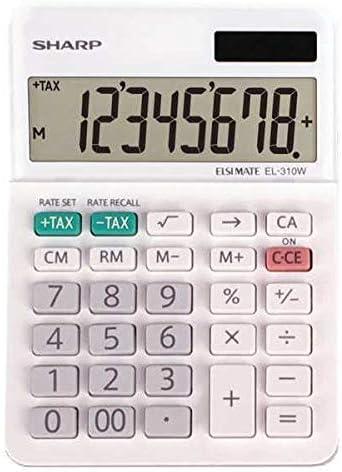Regular dealer Ranking TOP9 Sharp Calculators EL-310WB 8 Mini-Deskt Professional Digit