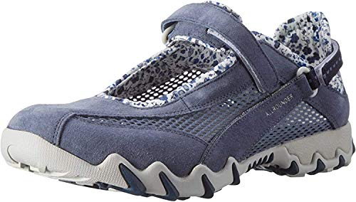 Allrounder by Mephisto NIRO Outdoor Fitnessschuhe Damen, Blau (Teal/Teal Coresuede 95/O.Mesh 95), 42 EU