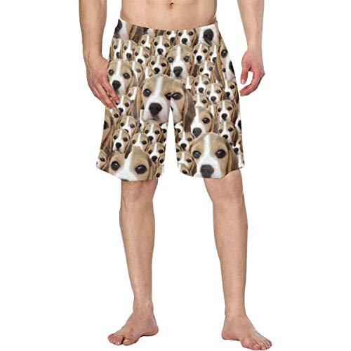 D-Story Custom Face Men Swim Trunk Beach Board Short Best Gift for Boyfrined Husband