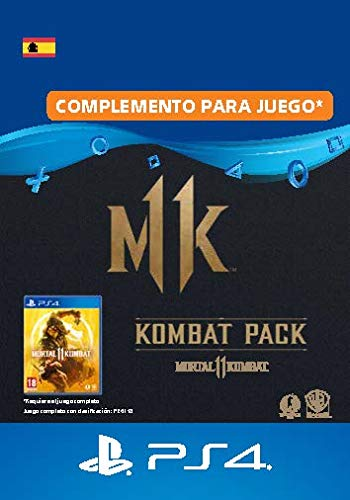 MortalKombat11 Kombat-Pack - PS4 Download Code - ES Account Edition   PS4...