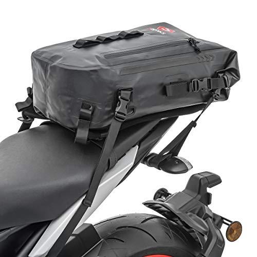Motorrad Rucksack 30L HX4 Bagtecs Hecktasche wasserdicht schwarz