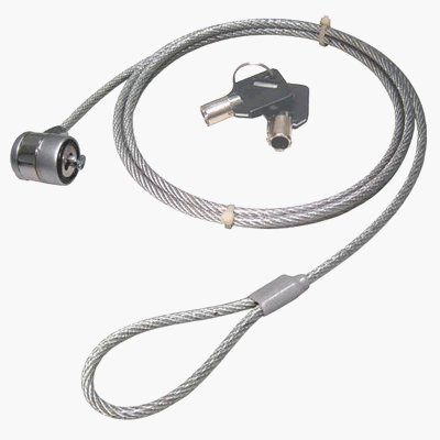 NEWLink - Ordenador portátil / pc / monitor cable de seguridad - llave operado.