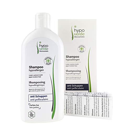 Hypoallergenes Shampoo gegen Juckreiz, Schuppen und trockene Kopf-Haut | Bei Neurodermitis, Psoriasis & Dermatitis | Naturkosmetik | Für Babys geeignet (Anti-Schuppen)