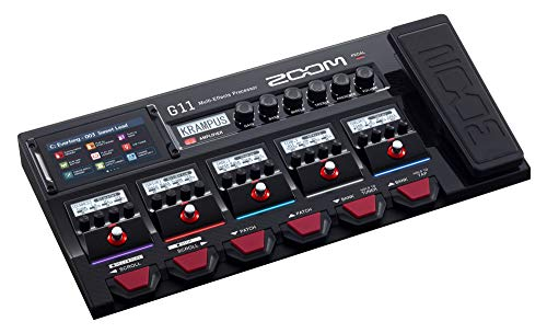 Zoom G11 - Pedalera multiefectos, amp-simulator, interface de audio