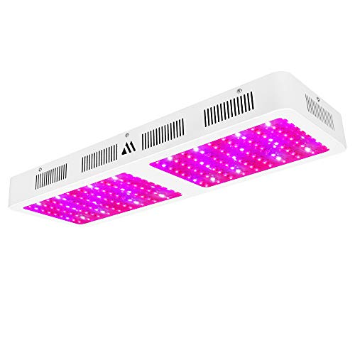 Dimgogo Newest 2000W LED Grow Light, Full Spectrum LED Plant Growing Lamps with Control Panel Double Switch for Indoor Plants Veg and Flower Hydroponics Greenhouse (200pcs 10 Watt LEDs)