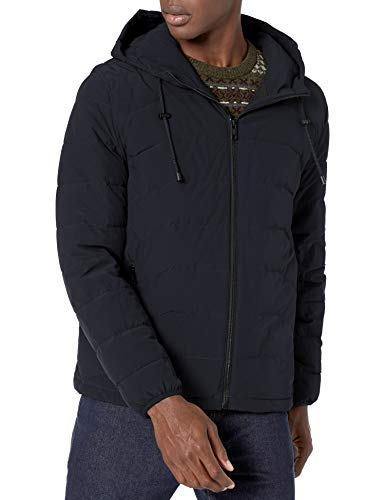 Marc New York by Andrew Marc Men's Claxton Down Jacket, Ink, XX-Large