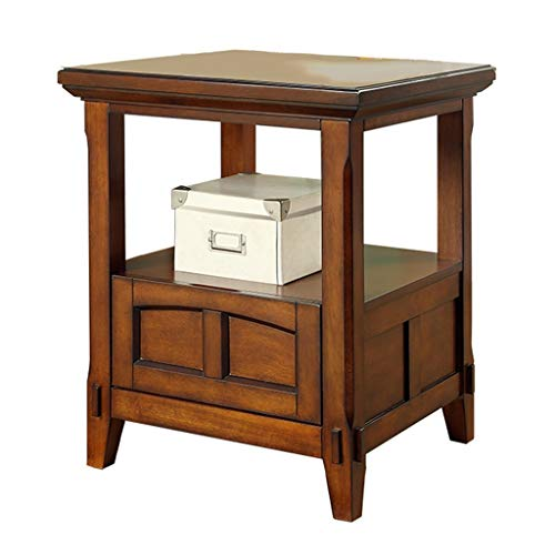 Tables Table Basse Côté Canapé Peint Armoire Latérale Rétro en Bois Massif Table D'appoint Canapé Amovible Coin Salon Minimaliste Moderne Table De Téléphone Tables de Dos de canapé