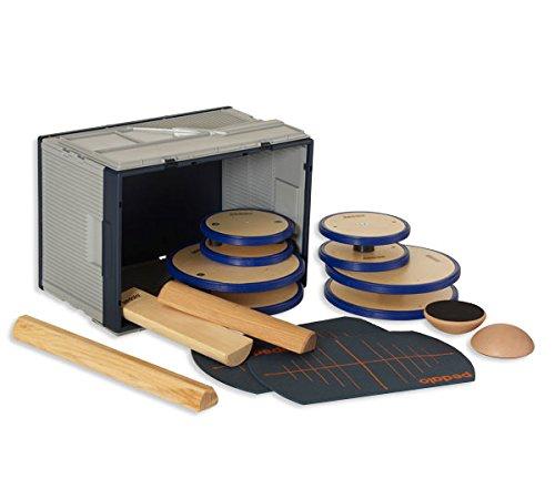pedalo Balance-Box Balance Board Holz–Trainer Gleichgewicht (Balance Board, Holz)