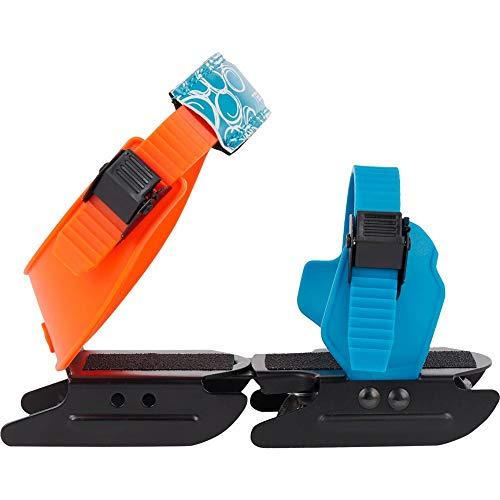 Tecnopro Unisex-Kinder Double Runner Feldhockeyschuhe, Blau (Blue/Orange 901), 25 EU