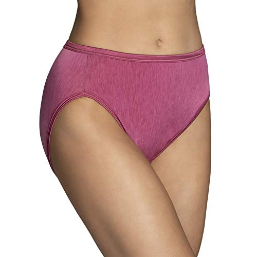 Vanity Fair Women's Illumination Hi Cut Panty 13108, Lovers Knot, 9