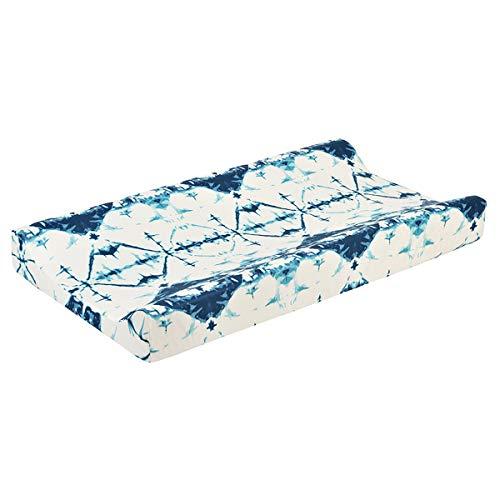 Nicoone Skötbäddsöverdrag mjukt andningsbart skötbord lakan torkbar blöja skötskydd för baby pojkar flickor