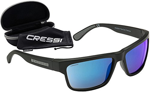 Cressi Ipanema Sunglasses - Unisex Adult Polarized Sports Sonnenbrille mit 100% UV-Schutz