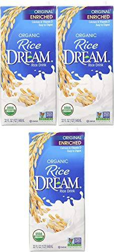 Rice Dream Organic Rice Drink, Enriched Original, 32 Oz (Pack of 6)