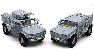 RPGスケールモデル 1/35 ロシア陸軍 装輪装甲車 タイフーン VDV K-4386 2両セット (30mm 2A42機関砲型 & 地雷防御タイプ前期型) プラモデル 35019