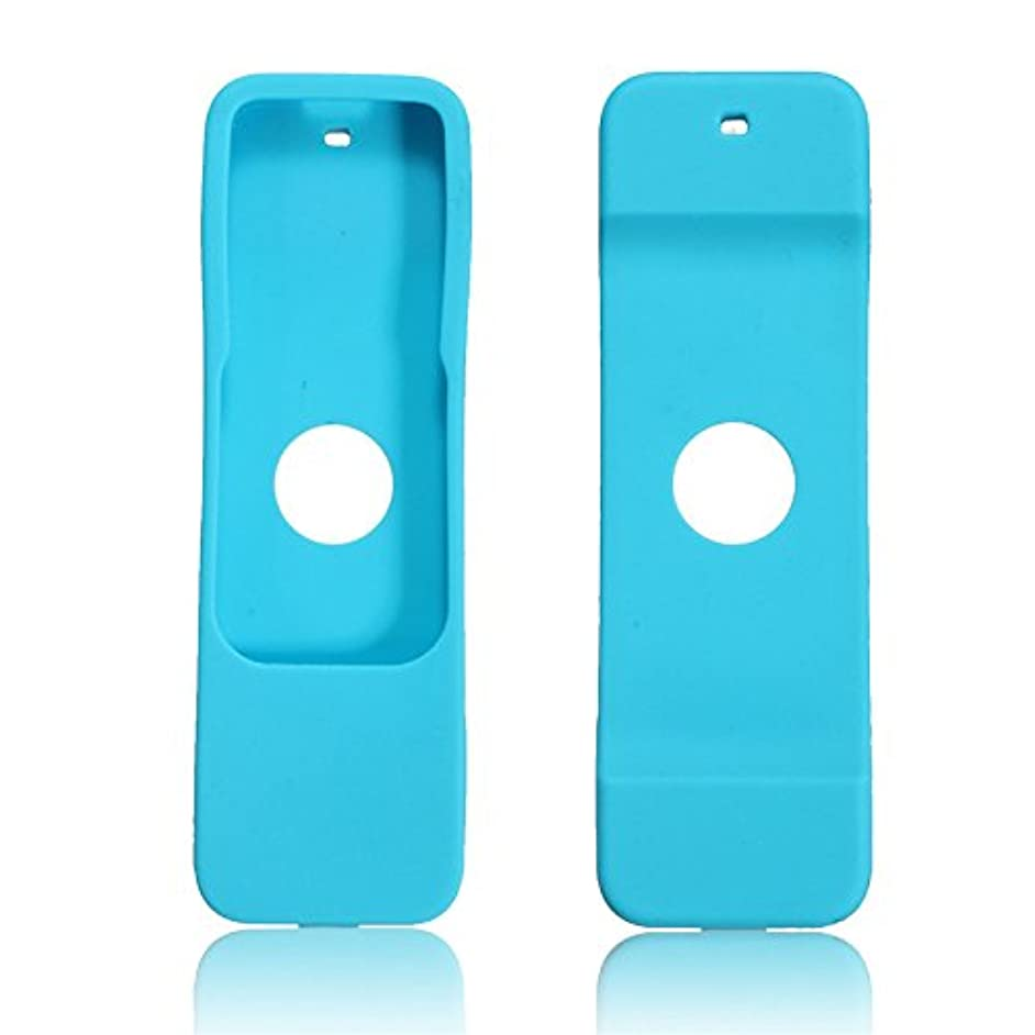 Eachbid Protective Case for Apple TV (4th Gen) Remote - Light Weight Dust Proof Silicone Cover for Apple TV 4 Remote Controller Blue